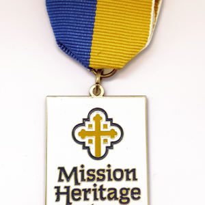 Mission Heritage Partners Medal