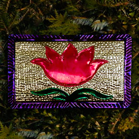 Mission Concepción Floral Motif