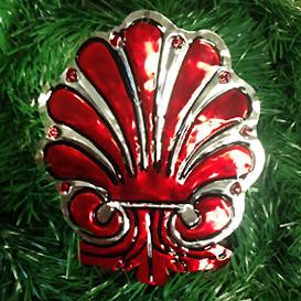 San Jose Shell Ornament